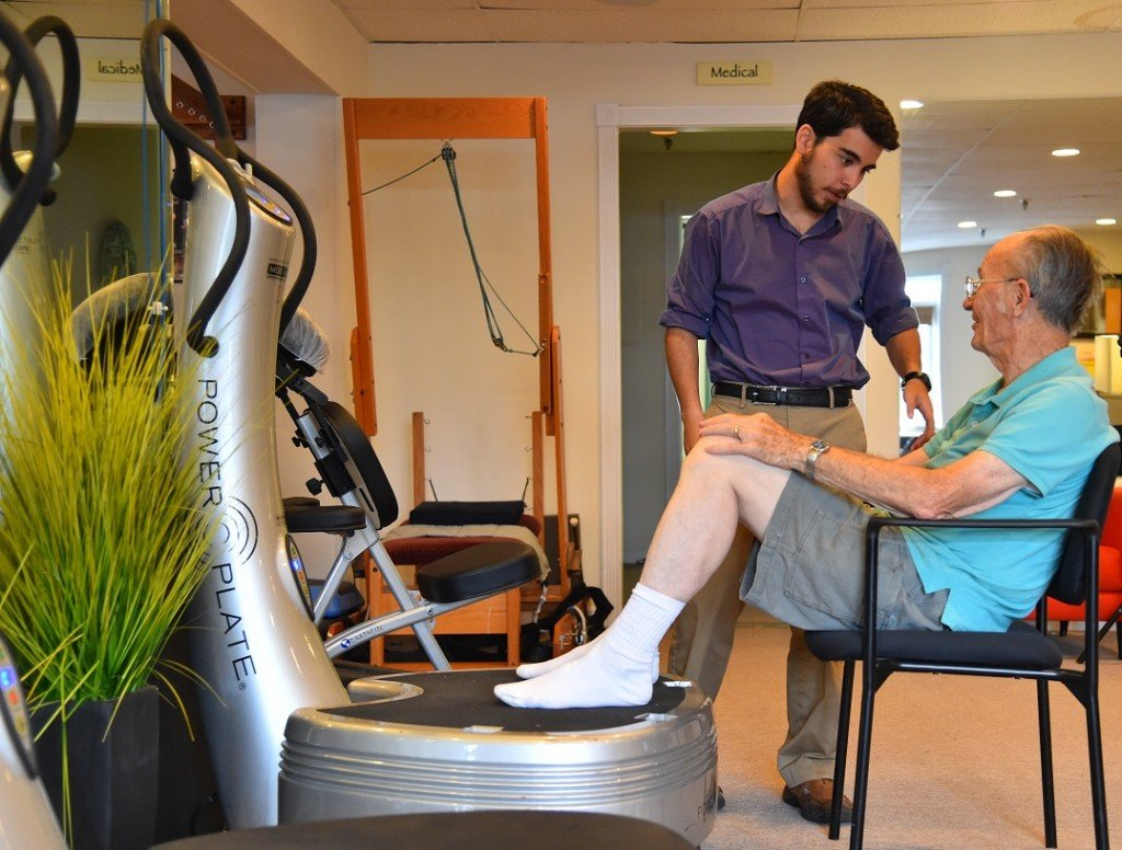Revolutionary Physical Therapy with Power Plate