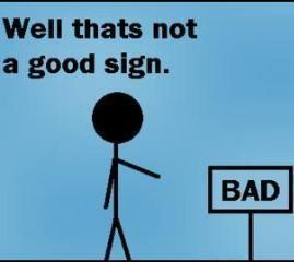 Don't Ignore the Obvious Signs in Front of You
