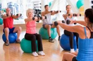 Exercise to stay well