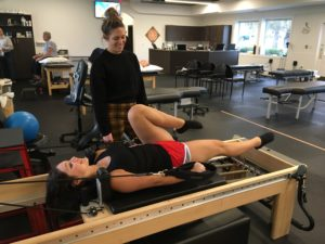 pilates reformer dancer rehab